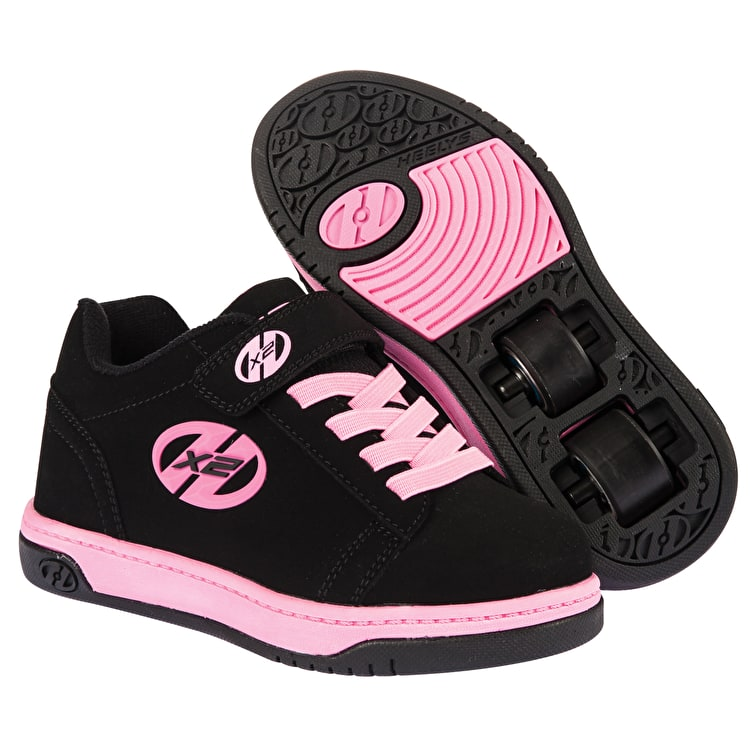 Heelys X2 Dual Up - Black/Pink