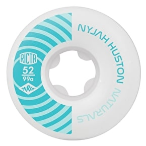 Ricta Naturals Nyjah 99a Skateboard Wheels - 52mm