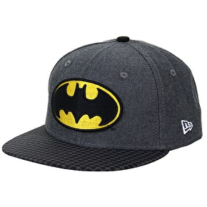 New Era Kids 9Fifty Chambray Batman Snapback Cap