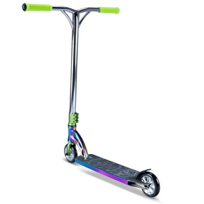 B-Stock MGP VX7 Team LE Complete Scooter - Neochrome/Lime (Box Damage)