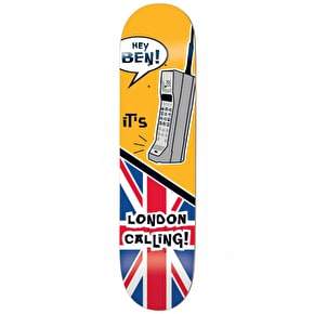 Enjoi London Calling Skateboard Deck - Raemers 8.38''