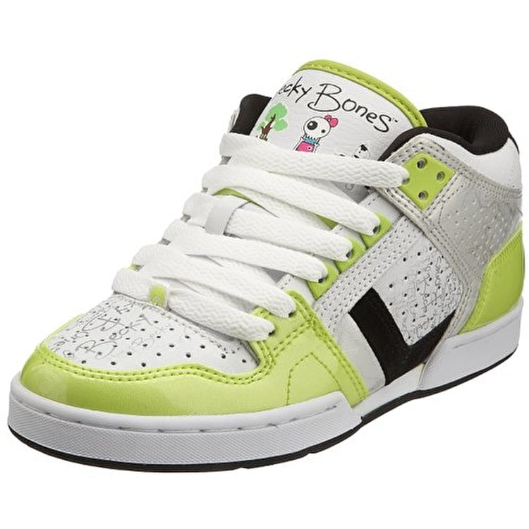 Osiris South Bronx Shoes - SCT/White/Green
