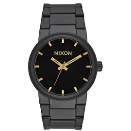 Nixon Cannon Watch - All Black/Gold