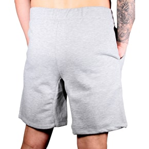 Hype Crest Shorts - Grey Marl