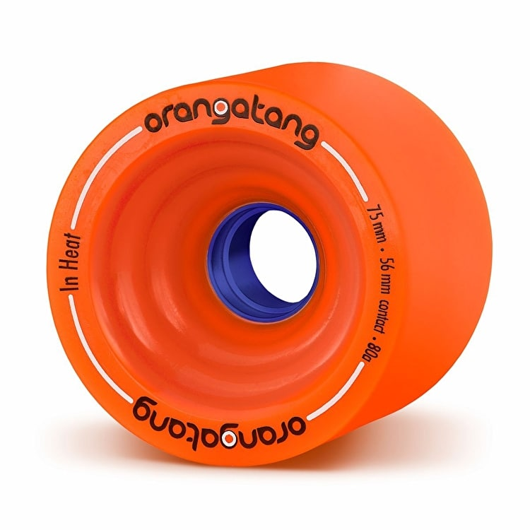 Orangatang In Heat 75mm Longboard Wheels (Pack of 4)