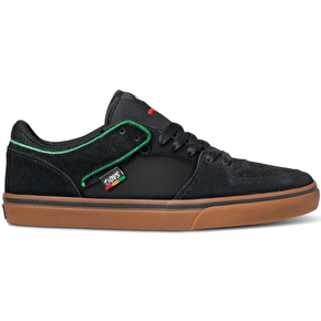 DVS Torey Lo Shoes - Black Suede/Canvas