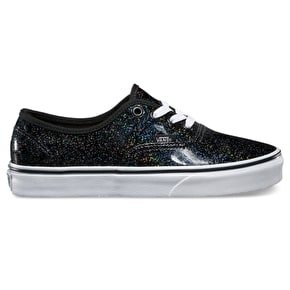 Vans Authentic Shoes - (Patent Galaxy) Black/True White