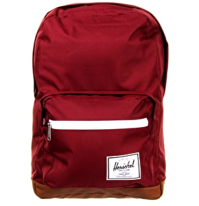 Herschel Pop Quiz Backpack - Windsor Wine/Tan PU