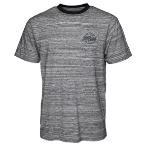 Santa Cruz Ledge Pocket T-Shirt - Grey Stripe
