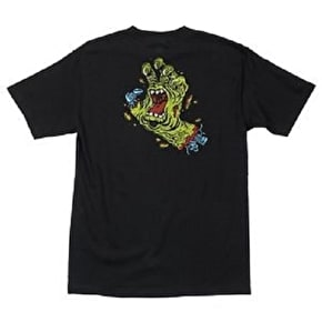 Santa Cruz Rob Hand T-Shirt - Black