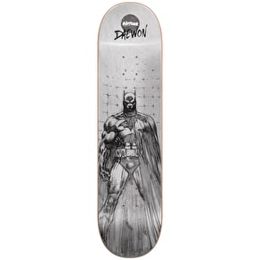 Almost Batman Pencil Sketch R7 Skateboard Deck - Daewon 8.125