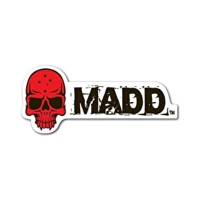 MGP MADD Red Skull Sticker
