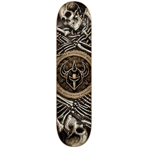 Darkstar Skateboard Deck - Remains HYB Brown 8