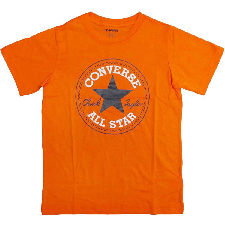 Converse Chuck Patch Kids T-Shirt - Orange