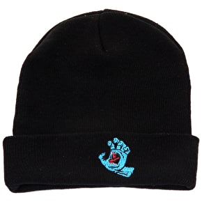 Santa Cruz Beanie - Screaming Hand Black