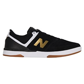 New Balance 533 V2 Skate Shoes - Black/Gold