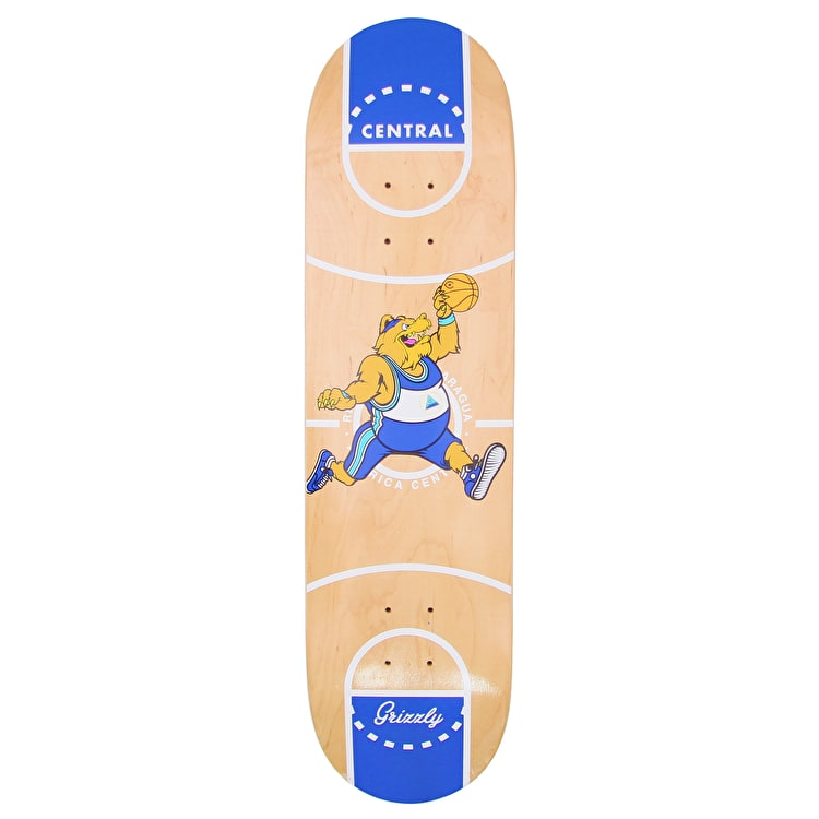 Grizzly X Full Court Skateboard Deck - 8""