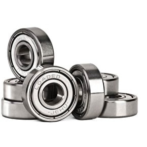 Loaded Jehu Abec 5 Longboard Bearings - Boxed w/Spacers (Pack of 8)