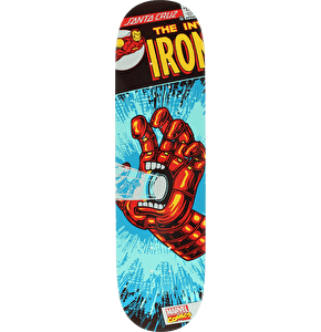 Santa Cruz x Marvel Skateboard Deck - Iron Man Hand 8