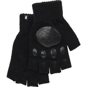 Grizzly Fingerless Gloves - Black