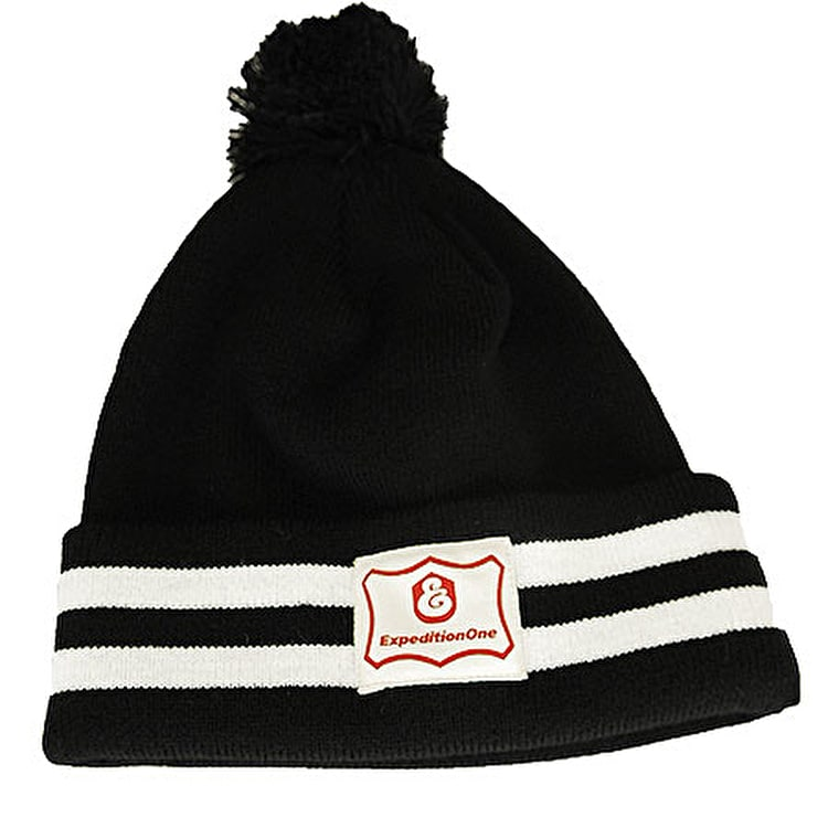 Expedition One Pine Beanie - Black