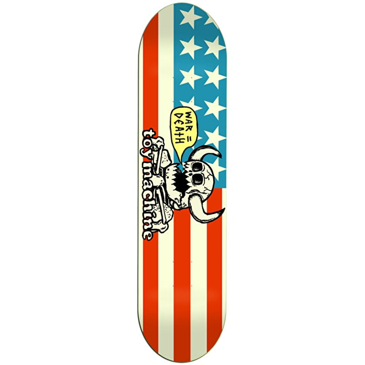 Toy Machine Dead American Monster Skateboard Deck 8.125""