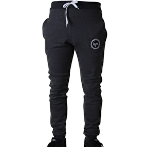 Hype Crest Skinny Fit Joggers - Charcoal