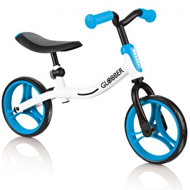 Globber Go Balance Bike - White/Sky Blue