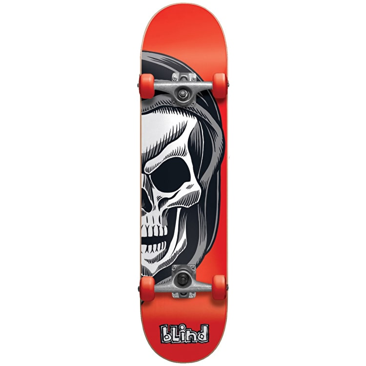 Blind Reaper Split Kids Complete Skateboard w/Stocking - Red 7.25""