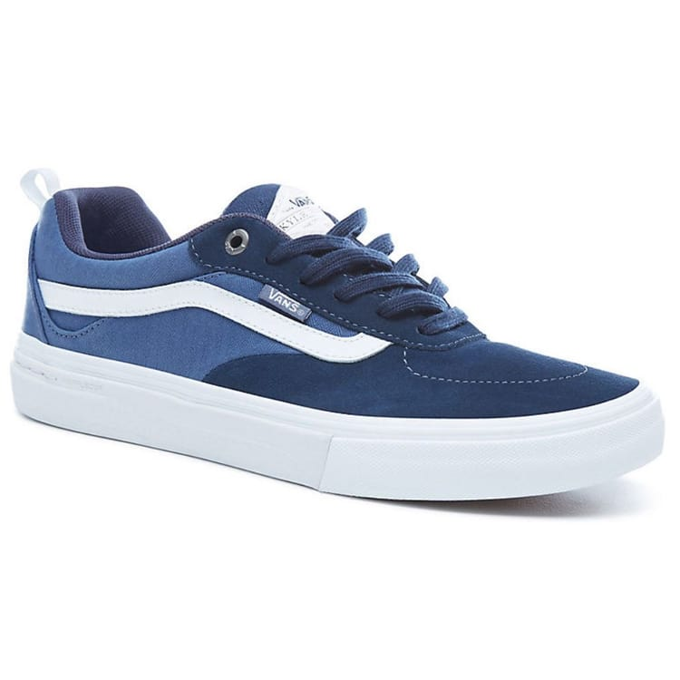 Vans Kyle Walker Pro Skate Shoes - Dress Blue/Vintage Indigo/White