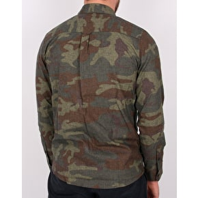 Volcom Woodland Long Sleeve Shirt- Camo