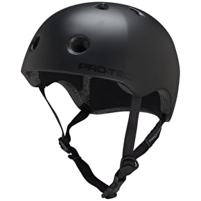 B-Stock Pro-Tec Street Lite Helmet- Satin Black Extra Large (Box Damage)