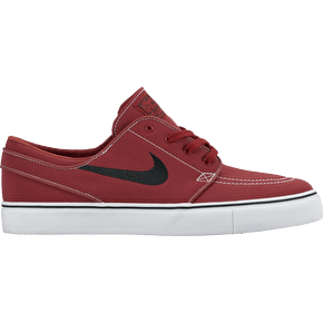 Nike SB Zoom Stefan Janoski Canvas Shoes - Dark Cayenne/Black