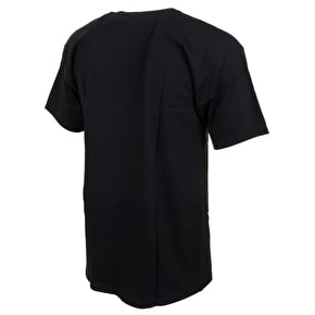 Organika Roots Stripe T-Shirt - Black