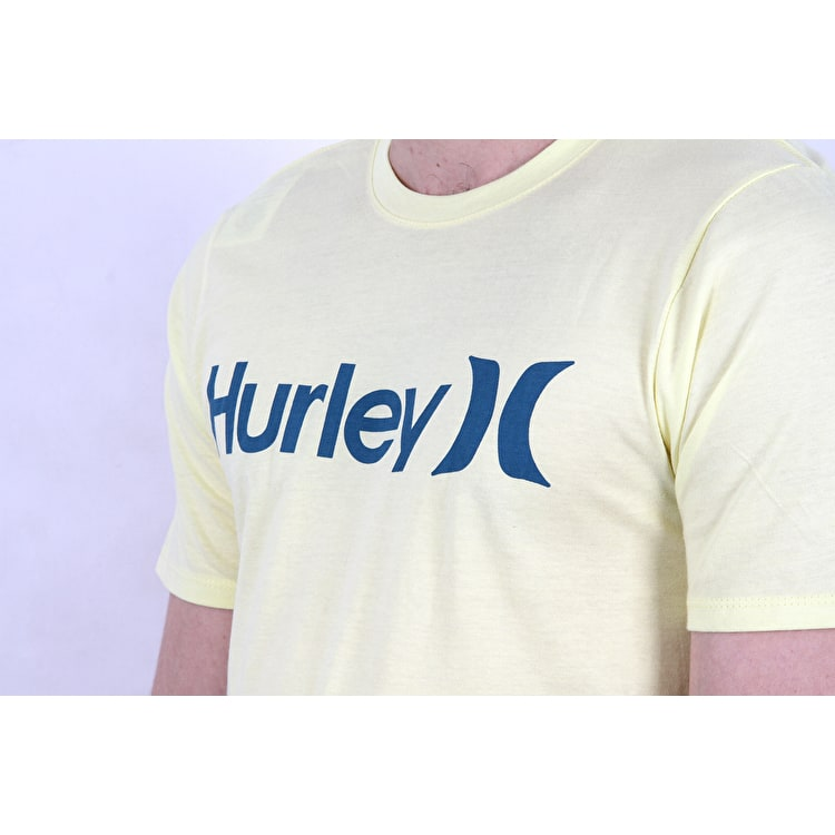 Hurley One & Only Solid T shirt - Citron Tint