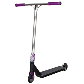 UrbanArtt x Infinity Custom Scooter - Black/Chrome/Purple
