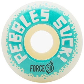 Force Pebbles Suck! 2017 Skateboard Wheels - 50mm