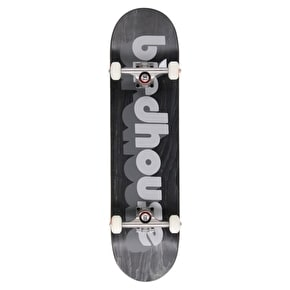 Birdhouse 3D Logo Custom Skateboard - Black 8