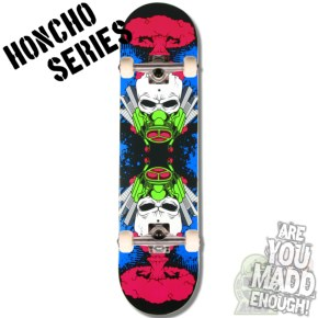 MGP Honcho Series Complete Skateboard - The End 7.75