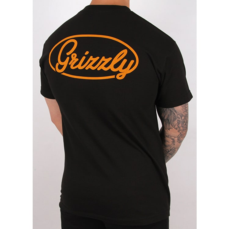 Grizzly Built To Last T shirt - Black