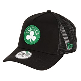 New Era Reverse Team Trucker Cap - Boston Celtics