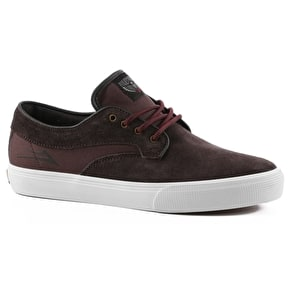Lakai Riley Hawk Skate Shoes - Chocolate Suede