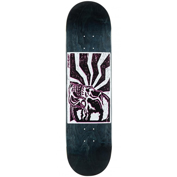 Santa Cruz Skull Block Skateboard Deck - 8.25""