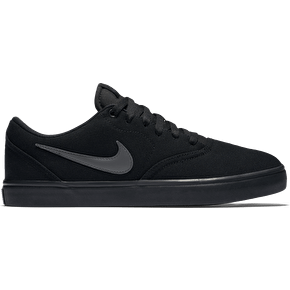 Nike SB Check Solar Cnvs Skate Shoes - Black/Anthracite