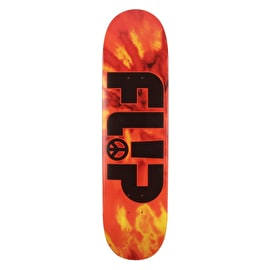 Flip Odyssey Peace Skateboard Deck - Red 8