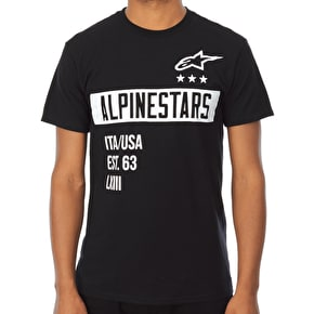 Alpinestars Valiant T-Shirt - Black