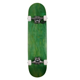 Mini Logo Chevron Stamp Complete Skateboard - Dyed Green