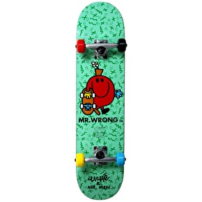 Cliché Kids Skateboard - Mr. Wrong Turquoise 7.5