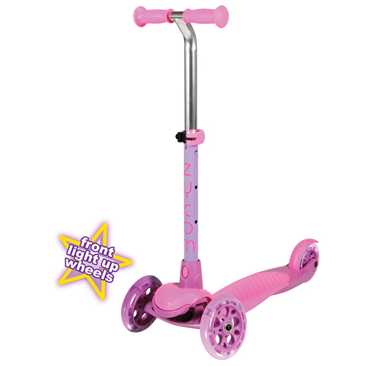 Zycom Zing Complete Scooter w/Light Up Wheels- Pink/Purple