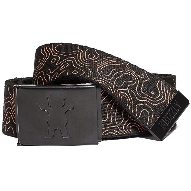 Grizzly National Park Clamp Belt - Black